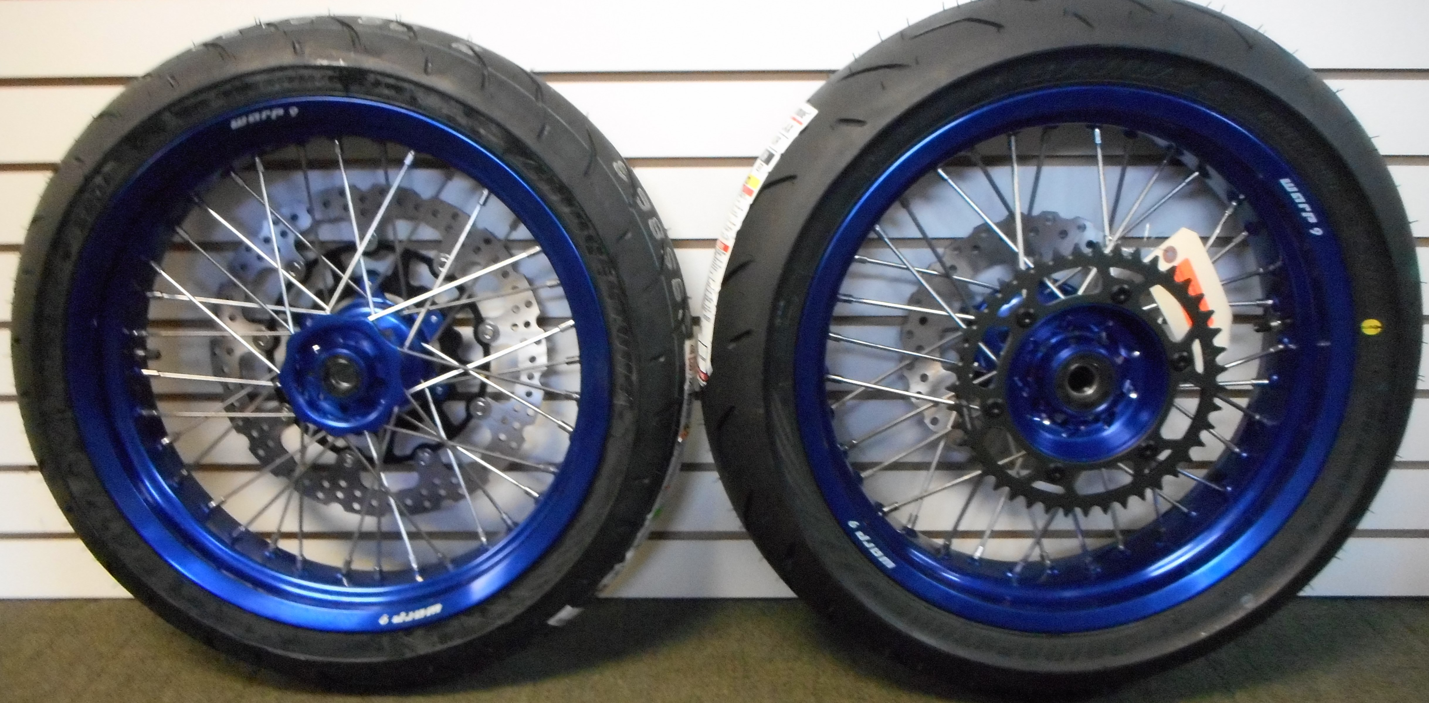 Marchesini Wheels for YZ450F/WR450F | Panjo