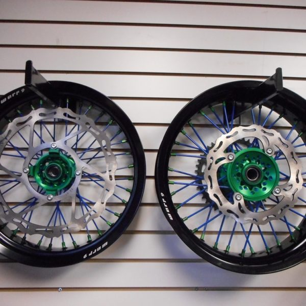 Supermoto Wheel Set