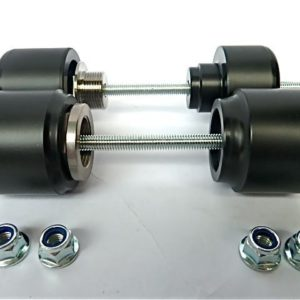Supermoto Axle Sliders
